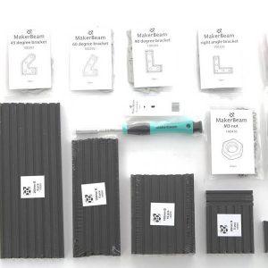 makerbeam-10x10mm-aluminum-profile-black-starter-k 2